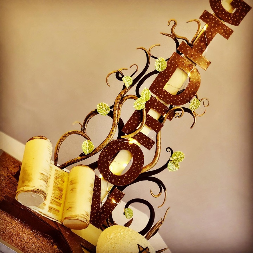 Bar Mitzvah chocolate celebration showpiece