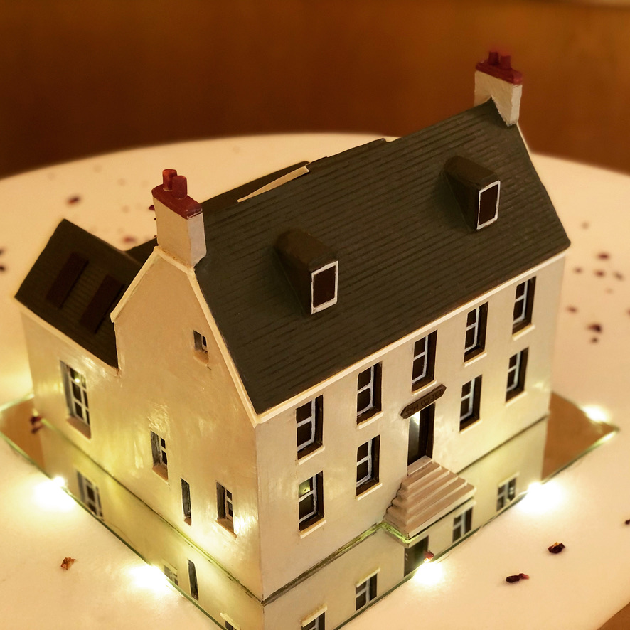 Jersey Farm House in Chocolate for Wedding