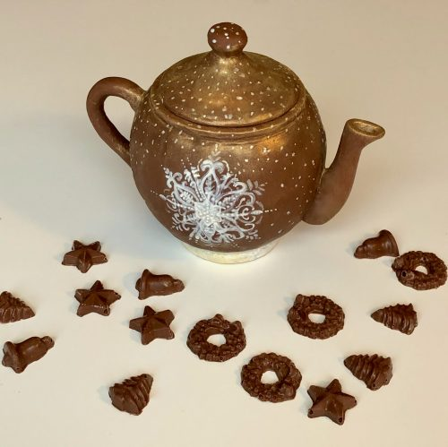 Chocolate Teapot for Christmas