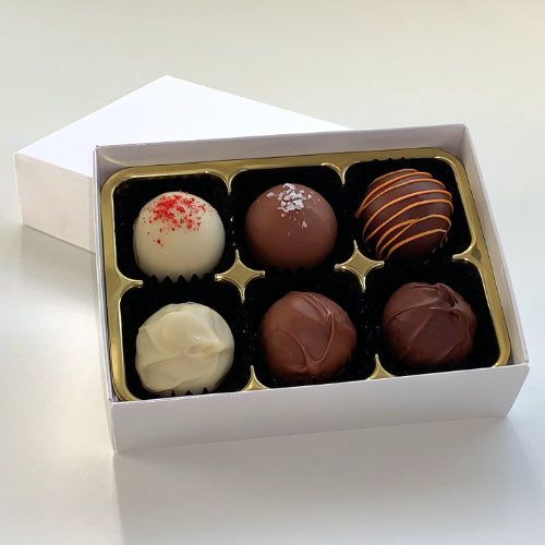 6 Valentine's chocolate box